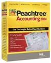 (Click to Enlarge) Peachtree Accounting 2004 - Full Version - Retail Box.