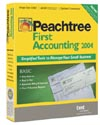 (Click to Enlarge) Peachtree First Accounting 2004 - Full Version - Retail Box