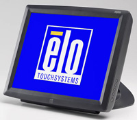 (Click to Enlarge) ELO TOUCHSYSTEMS [elo-d04393] - >> 1529L  CARROLLTOUCH  DARK GREY TALL STAND  COMBO CONTROLLER [elo-d04393]