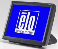 (Click to Enlarge) ELO TOUCHSYSTEMS [elo-a72595] - >> 1529L  SERIAL/USB  SHORT STAND SURFACE CAPACITIVE  DARK GREY [elo-a72595]