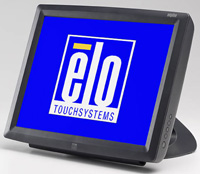 (Click to Enlarge) ELO TOUCHSYSTEMS [e619005] - ELO - 1529L - 15- LCD - ACCUTOUCH - SERIAL/USB INTERFACE - DARK GRAY - SHORT STAND - DESKTOP [e619005]