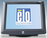 (Click to Enlarge) ELO TOUCHSYSTEMS [e943243] - ELO 1229L 12 Inch LCD INTELLITOUCH USB INTERFACE DARK GRAY DESKTOP [e943243]