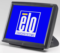 (Click to Enlarge) ELO TOUCH SOLUTIONS [e700641] - >> 1529L W/APR - GRAY - USB - ROHS 15- DESKTOP LCD (ITEM ALSO KNOWN AS : ELO-E700641) [e700641]