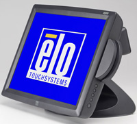 (Click to Enlarge) ELO TOUCHSYSTEMS [e071845] - >> 1529L TOUCHCOMPUTER  WIN 2000 ACCUTOUCH USB CUSTOMER DISP  MSR [e071845]