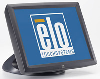 (Click to Enlarge) ELO TOUCHSYSTEMS [e796533] - ELO - 1522L - 15- LCD - SURFACE CAP USB - DARK GRAY - SHORT STAND - DESKTOP [e796533]