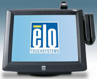 (Click to Enlarge) ELO TOUCHSYSTEMS [e488431] - ELO 1229L 12 Inch LCD INTELLITOUCH USB INTERFACE DARK GRAY KEYBOARD EMULATION MSR CUS [e488431]