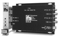 (Click to Enlarge) UTC FIRE & SECURITY [vt1001] - >> DUAL VIDEO TRANSCEIVER - MULTIM ODE (ITEM ALSO KNOWN AS : IFS-VT1001) [vt1001]