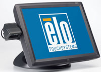 (Click to Enlarge) ELO TOUCHSYSTEMS [e393179] - >> 1529L ACCUTOUCH  USB  KEYBOARD EMULATION MSR  CUSTOMER DISPLAY 1-D SCANNER  GRAY [e393179]