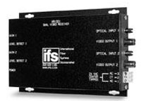 (Click to Enlarge) UTC FIRE & SECURITY [vr1001] - >> MULTIMODE DUAL VIDEO RECEIVER  MANUAL GAIN (ITEM ALSO KNOWN AS : IFS-VR1001) [vr1001]