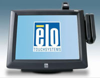 (Click to Enlarge) ELO TOUCHSYSTEMS [elo-e811391] - >> 1229L INTELLITOUCH  USB  MSR GRAY [elo-e811391]