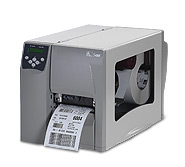 (Click to Enlarge) ZEBRA [s4m00-2001-0100d] - ZEBRA 203DPI LABEL BARCODE S4M PRINTER ZPL SER/USB/PAR TT/THERMAL TRANSFER 4MB US CORD [s4m00-2001-0100d]