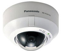 (Click to Enlarge) PANASONIC CONSUMER ELECTRONICS [bb-hcm705a] - >>> FIXED DOME MEGAPIXEL POE (POWER OVER ETHERNET) NETWORK CAMERA H.264 [bb-hcm705a]