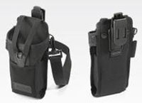 (Click to Enlarge) MOTOROLA SOLUTIONS [11-69293-01r] - >> FABRIC HOLSTER (SECURES TO A BELT AND INCLUDES SHOULDER STRAP) FOR THE MC3000 (ITEM ALSO KNOWN AS : SYM-116929301R) [11-69293-01r]
