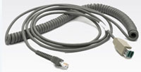 (Click to Enlarge) ZEBRA [sym-cbau08c15zar] - >>> CABLE UNIVERSAL STYLE USB POW +  15- COILED. (ITEM ALSO KNOWN AS : CBA-U08-C15ZAR) [sym-cbau08c15zar]
