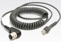 (Click to Enlarge) SYMBOL (152) [sym-cbat13c09zar] - >>> CABLE UNIVERSAL STYLE RS232 VR C79/8900 9- COILED. (ITEM ALSO KNOWN AS : CBA-T13-C09ZAR) [sym-cbat13c09zar]