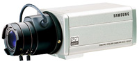 (Click to Enlarge) Samsung [scc131b] - >>> SCC-131B Color Camera (1/3 Inch  520 Lines  0.3 LUX and 12VDC/24VAC) [scc131b]