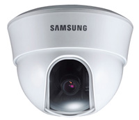 (Click to Enlarge) SAMSUNG CCTV-GVI SECURITY [scc-b5313] - >>> 1/3'' Color  DNR  Fixed Dome CAMERA ELEC DAY/NIGHT WHITE [scc-b5313]