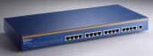 (Click to Enlarge) Aopen AOH-216 16 PORT Fast Etherlink 10/100 Base-T Hub Retail