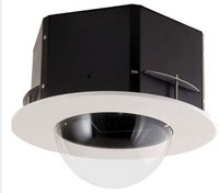 (Click to Enlarge) SONY ELECTRONICS INC. [sncid7c1] - >>> 7 INCH  CEILING MOUNT DOME HOUSING FOR SNCRZ30N [sncid7c1]
