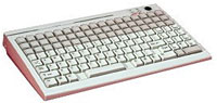 (Click to Enlarge) POSIFLEX BUSINESS MACHINES,INC [kb3200] - >> 136 KEYS W/QWERTY & 53 PROGRAM KEYS - BEIGE [kb3200]