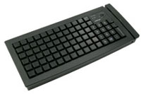 (Click to Enlarge) POSIFLEX BUSINESS MACHINES INC [kb6620] - >>> 84 KEYS PROG KEYBOARD - MSR OPT IDEAL FOR HT2000/HT4000 - BLACK (ITEM ALSO KNOWN AS : POS-KB6620) [kb6620]