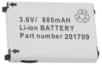 (Click to Enlarge) UNITECH [1400-202501g] - UNITECH - REPLACEMENT PT630D LI-ION RECHRGABLE BATTERY - 3.7V [1400-202501g]