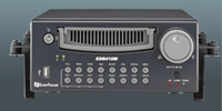 (Click to Enlarge) EVERFOCUS ELECTRONICS CORP. [edr410m-60] - >>> 4 CHANNEL HALF-SIZE MOBILE DVR 60GB TCP/IP MPEG-4 USB 60IPS [edr410m-60]