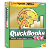 (Click to Enlarge) Intuit's QuickBooks Pro Employer Edition 2003 Suite