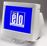 (Click to Enlarge) ELO TOUCH  SYSTEMS, INC. - ELO 1725C 17 Inch CRT iTOUCH USB BEIGE NEW PART# 045182-001 [454000-000]