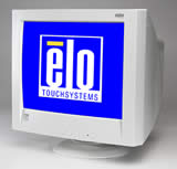 (Click to Enlarge) ELO TOUCH  SYSTEMS, INC. - >>> 21 Inch CRT ITOUCH  SERIAL Interface BEIGE [074698-000]