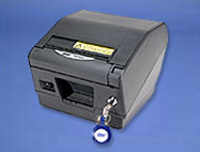 (Click to Enlarge) STAR MICRONICS [tsp847c-24gryrx] - STAR 110mm THRML PRSCPTN PRINTER Parallel AUTO CUTTER (A/C) W/LOCK P/S INCLUDED [tsp847c-24gryrx]