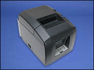 (Click to Enlarge) STAR MICRONICS [37999540] - STAR MICRONICS - TSP654L-24 GRY - THERMAL - PRINTER - 2 COLOR - CUTTER - ETHERNET (LAN) - GRAY - REQUIRES POWER SUPPLY   30781750 [37999540]