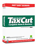 (Click to Enlarge) H&R Block TaxCut Complete Home & Business 2004 for Windows
