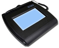 (Click to Enlarge) TOPAZ [tpz-t-l755-b] - TOPAZ SIGNATURE CAPTURE PAD GEM SIGNATUREGEM 4X3 LCD RS232 Interface (NON BACKLIT) [tpz-t-l755-b]
