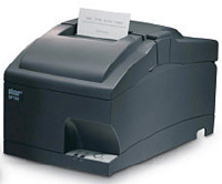 (Click to Enlarge) STAR MICRONICS [37999200] - STAR MICRONICS - SP712MC GRY US R - IMPACT - PRINTER - TEAR BAR - PARALLEL - GRAY - POWER SUPPLY INCLUDED - REWINDER. [37999200]