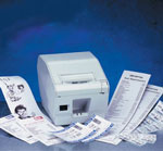 (Click to Enlarge) Ultra High Speed Receipt Printer with Auto-Cutter - DT Parallel