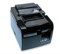 (Click to Enlarge) STAR MICRONICS [39463510] - STAR MICRONICS - TSP143UGT BLACK US - THERMAL - PRINTER - 2 COLOR - CUTTER - USB - PIANO BLACK - POWER SUPPLY INCLUDED [39463510]
