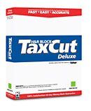(Click to Enlarge) H&R Block TaxCut Deluxe 2004 for Windows