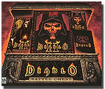 (Click to Enlarge) Diablo 2 (II) Battlechest (Battle Chest) - Full Retail Box