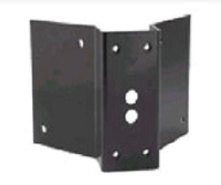 (Click to Enlarge) PANASONIC SYSTEM SOLUTIONS CO [paca2] - >> CORNER MOUNT BRACKET - BLACK (ITEM ALSO KNOWN AS : PAN-PACA2) [paca2]