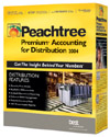 (Click to Enlarge) Peachtree Premium Accounting for Distribution 2004