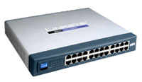 (Click to Enlarge) CISCO SMALL BUSINESS [csc-sr224] - >> 24-PORT 10/100 UNMANAGED SWITC [csc-sr224]