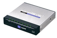 (Click to Enlarge) CISCO SMALL BUSINESS [slm2008] - >> 8-PORT 10/100/1000 SMART SWITC W/ PD AND AC POWER [slm2008]