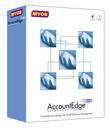 (Click to Enlarge) MYOB AccountEdge 2004 Network Edition for MAC