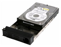 (Click to Enlarge) CISCO SMALL BUSINESS [hdt0250] - >>>> SPARE NAS DRIVE TRAY W/250GB DRIVE FOR NSS SERIES NAS [hdt0250]