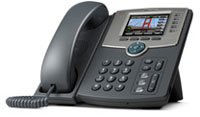 (Click to Enlarge) CISCO SYSTEMS, INC [spa525g] - >>> Line IP PHONE w/Color Display POE (Power Over Ethernet)  802.11g [spa525g]