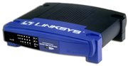(Click to Enlarge) Linksys BEFVP41 - EtherFast Cable/DSL VPN Router with 4-Port 10/100 Switch - Retail