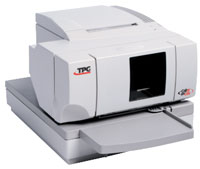 (Click to Enlarge) COGNITIVE [a760-1205-tw01] - TPG - A760 - HYBRID RECEIPT/SLIP PRINTER - BEIGE - POWERED USB - TPG LOGO - SHORT SLIP TABLE - 2M [a760-1205-tw01]