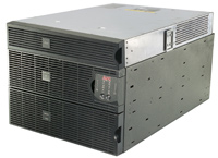 (Click to Enlarge) AMERICAN POWER CONVERSION [surt7500rmxlt-1tf5] - >> APC SMART-UPS RT 7500VA 208V W 208V TO 120V STP DWN TRNSFR 2U [surt7500rmxlt-1tf5]