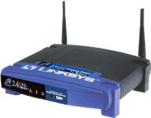 (Click to Enlarge) Linksys WAP11 Instant Wireless Network Access Point - Retail